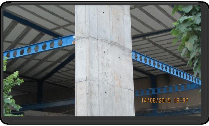 دیوار برشی در سازه فولادی