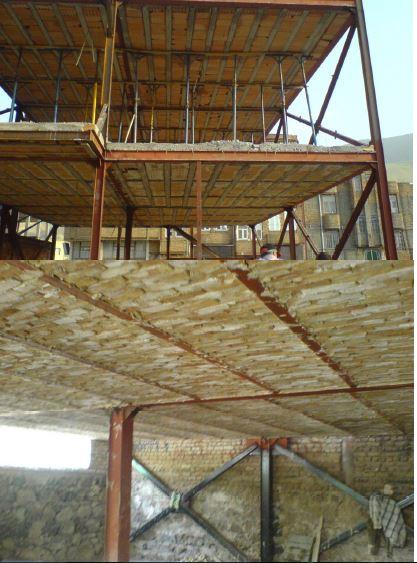 نکات اجرایی سازه فولادی