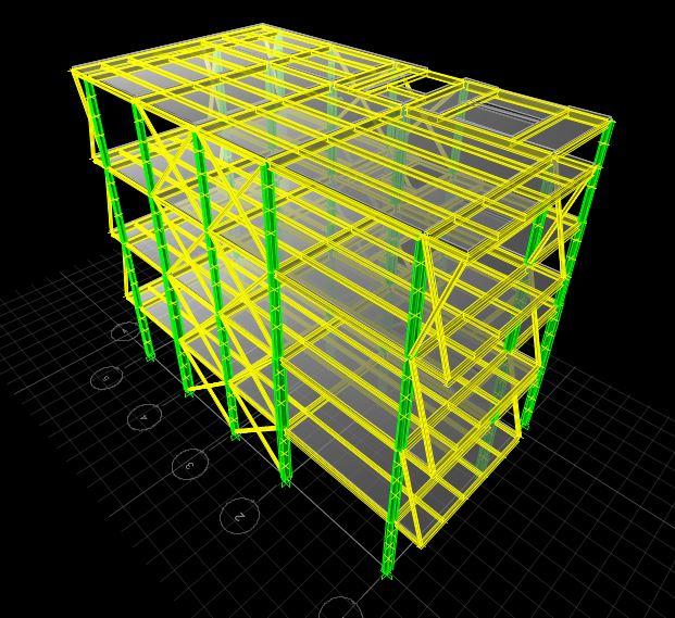 طراحی سازه فولادی
