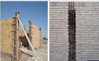 Image result for ساختمان با مصالح بنایی