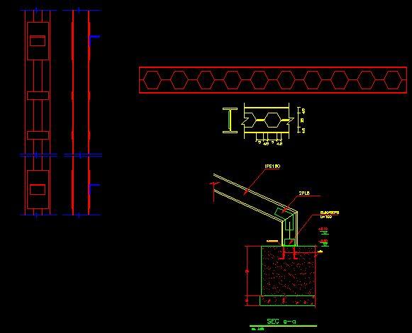 نقشه اتصالات فولادی