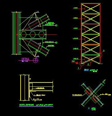 دانلود فایل اتصالات سازه فولادی