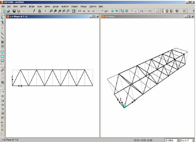 آموزش طراحی پل با برنامه bridge