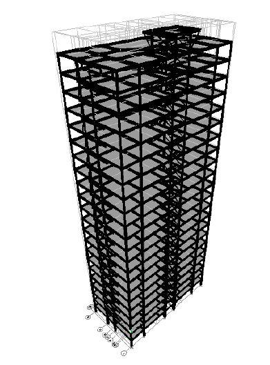 پروژه فولادی ۱۹ طبقه در ایتبس و سیف