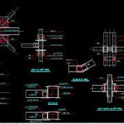 ترسیم نقشه سازه های فولادی