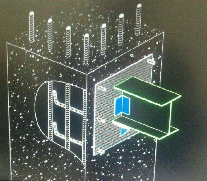 اتصال مفصلی در سازه بتنی