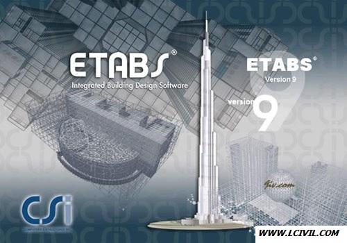 فیلم آموزش کامل ایتبس ۹.۷.۴|صفرتاصد طراحی سازه بتنی در ETABS9.7.4