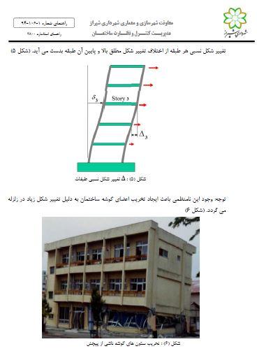 آیین نامه ۲۸۰۰| راهنمای استاندارد ۲۸۰۰ زلزله ایران -ویرایش چهارم