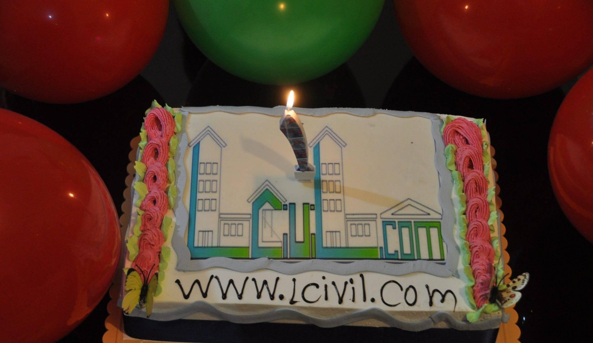 تولد یک سالگی سایت لرن سیویل + کد تخفیف خرید محصولات