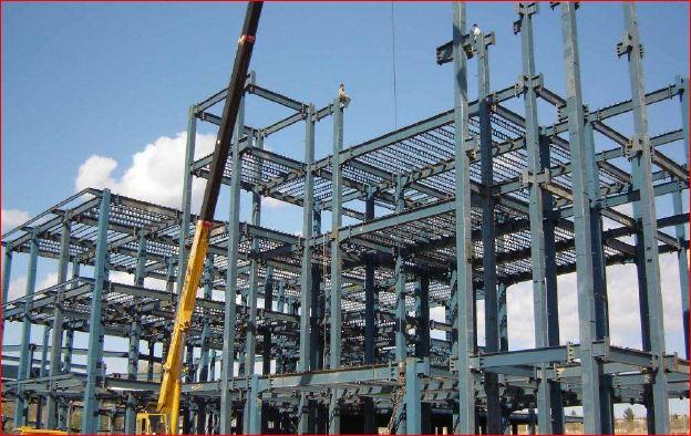 پروژه کامل سازه فولادی | محاسبات دستی و نرم افزاری