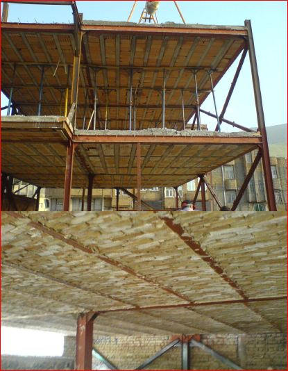 نکات فنی و اجرایی سازه های اسکلت فولادی