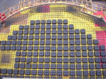 دتایل سقف یوبوت با فرمت اتوکد | سقف مجوف