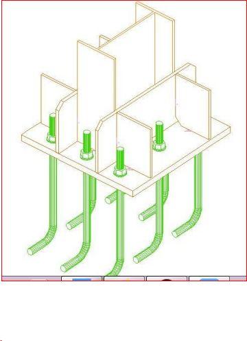 طراحی کف ستون در سازه های فولادی