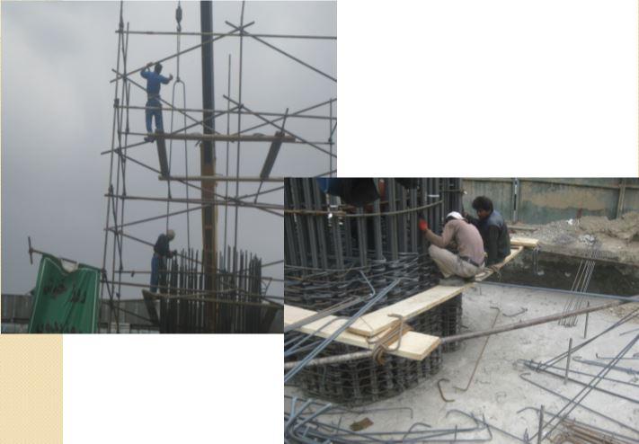 ایمنی در کارگاه و پروژه های عمرانی